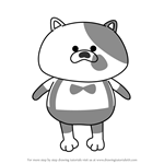 How to Draw Li'l Judd from Splatoon 2
