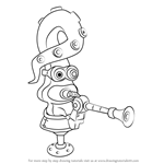 How to Draw Octosniper from Splatoon