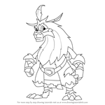 How to Draw Atlawas from Spyro