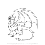 How to Draw Malefor from Spyro