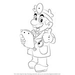 How to Draw Dr. Mario