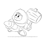 How to Draw Ice Climbers from Super Smash Bros