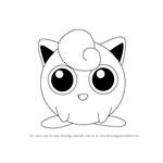 How to Draw Jigglypuff from Super Smash Bros