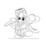 How to Draw King Dedede from Super Smash Bros