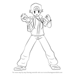 How to Draw Pokémon Trainer from Super Smash Bros