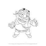 How to Draw Wario from Super Smash Bros