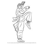 How to Draw Lei Wulong from Tekken