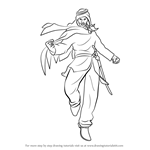 How to Draw Shaheen from Tekken