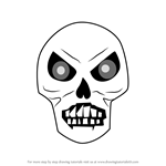 How to Draw Skeletron Prime from Terraria