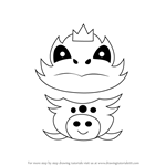 How to Draw Final Froggit from Undertale