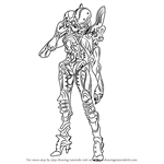 How to Draw Linada from Xenoblade Chronicles