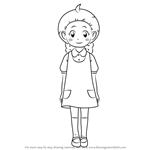 How to Draw Lucy Adams from Yo-kai Watch