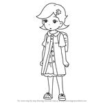 How to Draw Sarah from Yo-kai Watch