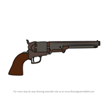 How to Draw Colt Revolver