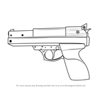 How to Draw a Hand Gun